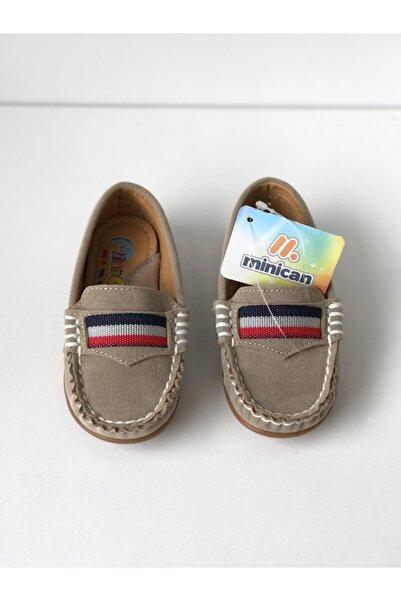 Minican Erkek Çocuk Bej Loafer Ayakkabı
