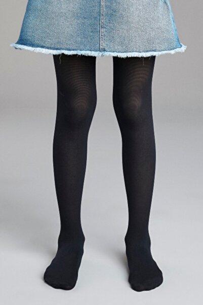 Penti Kız Çocuk Micro 40 Lacivert Kilotlu Çorap