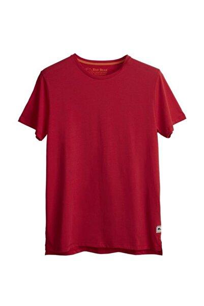 Bad Bear Erkek Kırmızı T-shirt Major Tee Oversize 21.01.07.034