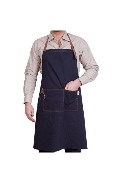 NOUT Cafe Önlük Kanvas Kumaş (barista, Garson, Şef, Aşçı, Kasap) Boyundan Askılı