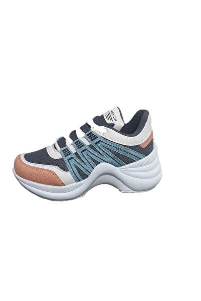 Twingo 602 Pudra Mavi Kadın Spor Ayakkabı