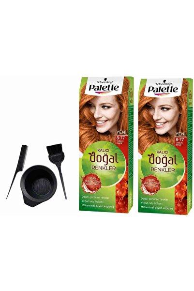Palette Natural Saç Boyası 8.77 Tarçın Bakır 50mlx 2 Adet