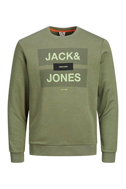 Jack & Jones Bisiklet Yaka Sweatshirt 12188040 Jcorojar