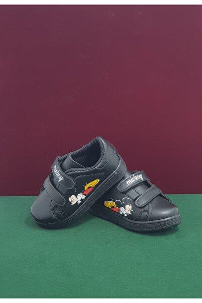 MICKEY Unisex Siyah Ayakkabı