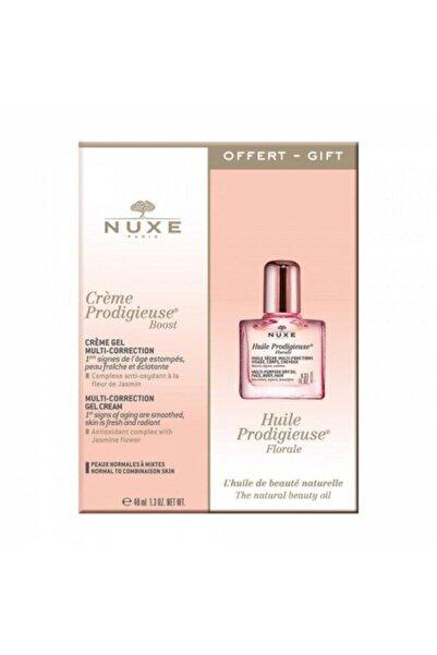 Nuxe Creme Prodigiuse Boost Creme Gel 40 Ml + Huile Prodigiuse Floral 10 Ml Set