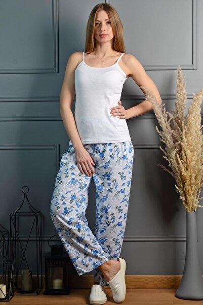 PİNKMARK Kadın Mavi Pijama Altı