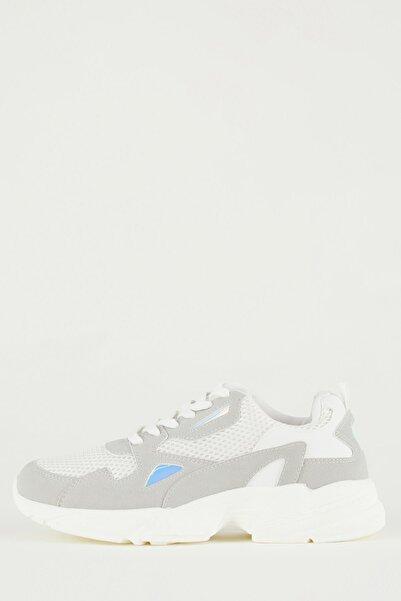 DeFacto Kadın Bağcıklı Ugly Sneaker Ayakkabı