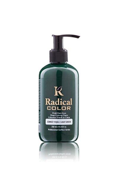 Radical Color Su Bazlı Saç Boyası 250 ml Zümrüt Yeşili 250ml