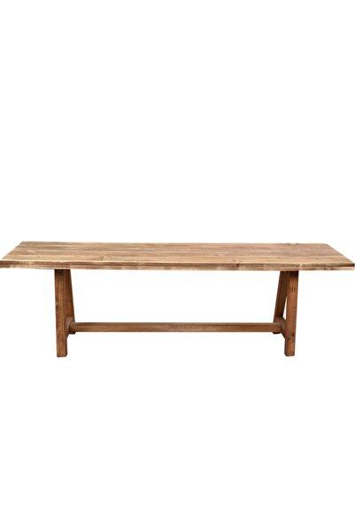 pinoxi Kahverengi Ahşap Bank 150 cm Bench Sandalye