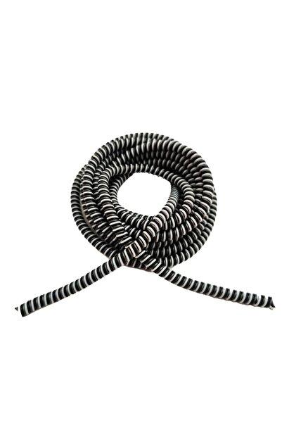 HONDEP Spiral Sarmal Kablo Kordon Koruyucu Siyah Şarj&Kulaklık Kaplama Kılıf Düzenleyici Aksesuar