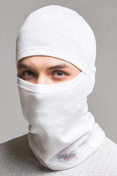 THERMOFORM Heavy Kar Maskesi Hzt1014 Beyaz Standart Beden
