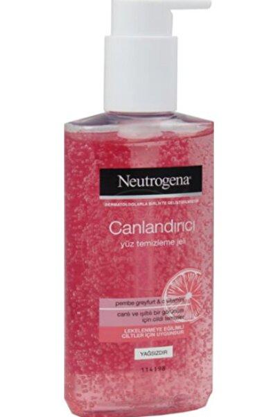 Neutrogena Unisex Canlandırıcı Pembe Greyfurt & C Vitaminli Yüz Temizlenme Jeli 200 ml