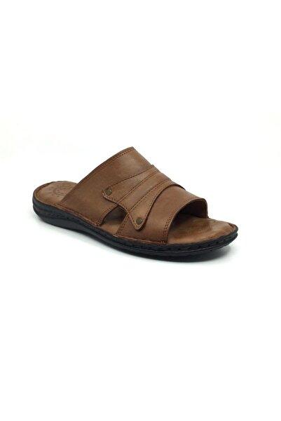 Taşpınar Erdem %100 Deri Ortopedik Erkek Terlik-sandalet 40-45