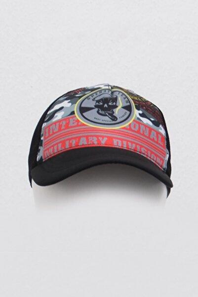 Mossta Military Dijital Baskılı Şapka Siyah