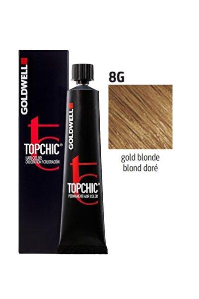 GOLDWELL Topchic Saç Boyası 8g Altın Kumral 60 ml