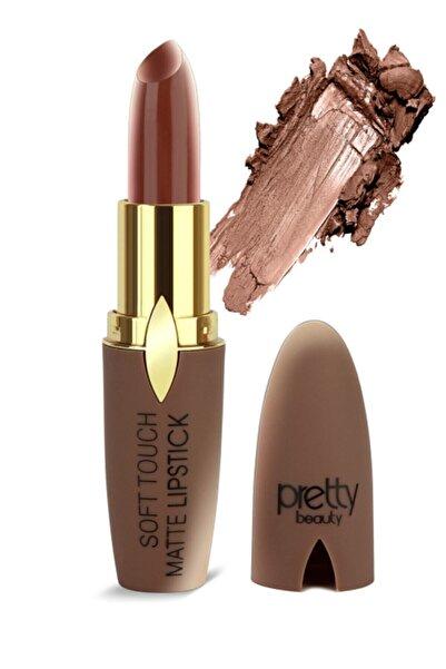 Pretty Beauty Soft Touch Matte Lipstick Ruj Pb-75 No:8