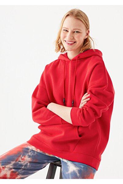 Mavi Kadın Kırmızı Sweatshirt 168327-30370