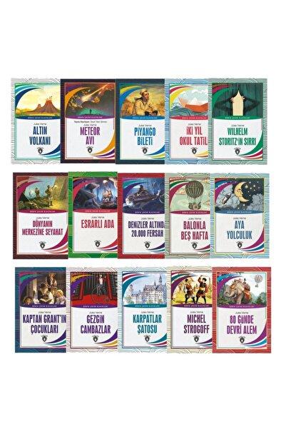 Dorlion Yayınevi Dünya Çocuk Klasikleri Jules Verne (7-12 Yaş) 15´li Set