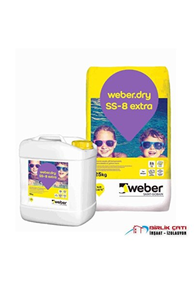 WEBER Dry Ss 8 Extra Set ( 25 + 10 kg )