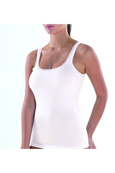 Blackspade Kadın Atlet Comfort Elegance 1364 - Krem