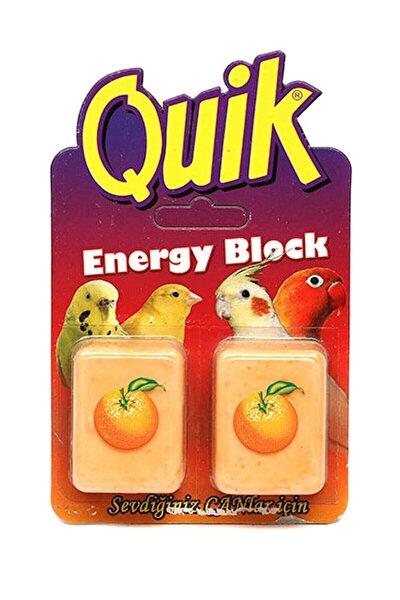 Quik Kuşlar Için Enerji Blok Gaga Taşı 2'li