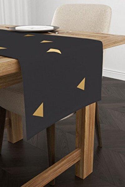Geometrik Desenli Dekoratif Modern Runner