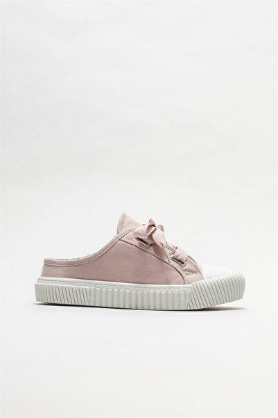 Elle Shoes Kadın Pembe Düz Terlik