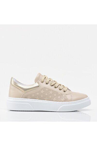 Hotiç Bej Yaya Spor Ayakkabı