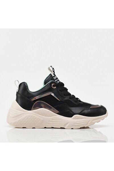 Hotiç Siyah Yaya Spor Ayakkabı