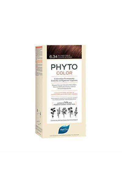 Phyto Color Bitkisel Saç Boyası 6.34 - Koyu Kumral Dore Bakır Yeni Formül