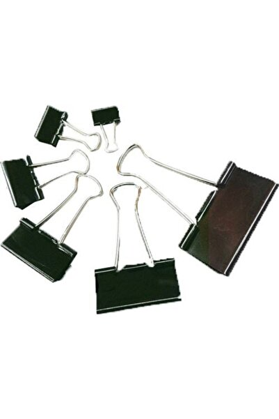 Rubenis Metal Klips 15 Mm 12 Li Rbs-954-6 (1 Paket 12 Adet)
