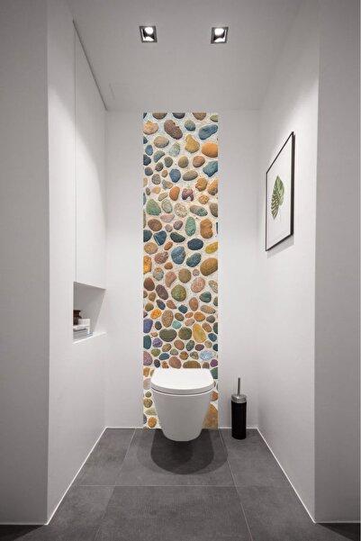 Kolhis 40cmx180cm Desen | Wc Tuvalet Arkası Kendiden Yapışkanlı Folyo | Banyo Fayans Kaplama Folyosu