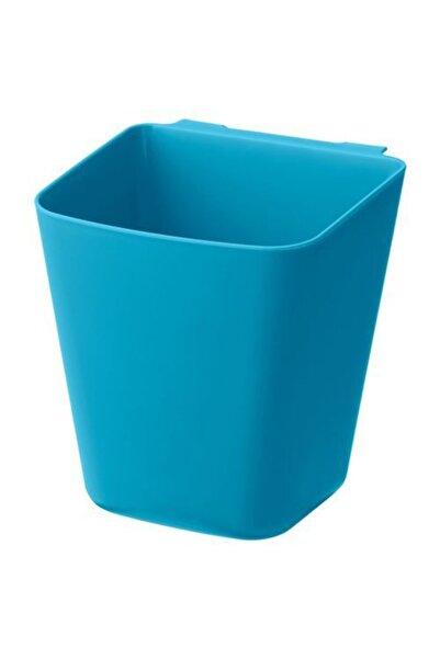 IKEA Çok Amaçlı Düzenleyici Kutu Meridyendukkan 12x11 Cm Toparlayıcı Kutu Mavi Renk
