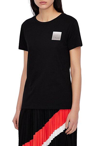 Armani Exchange Kadın  Bisiklet Yaka T Shirt    3kytka Yjw3z 1200