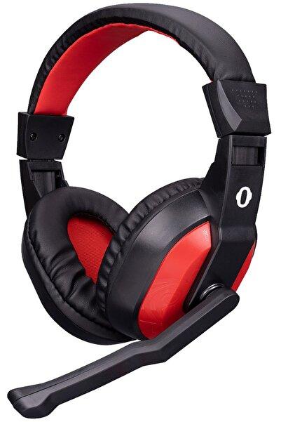 Snopy Sn-633 Siyah/kırmızı Kulak Üstü Gaming Oyuncu Mikrofonlu Kulaklık