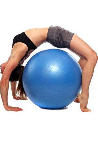 65 Cm Pilates Topu Kalın Büyük Boy Pilates Topu