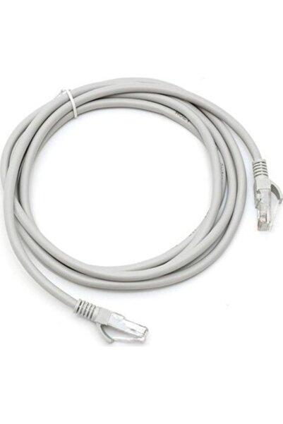 TEKNOGREEN Kutulu 1 Metre Cat6 Lan Fabrikasyon Internet Kablosu(ethernet Modem Rj45 Uçlu Jack Adsl Data )
