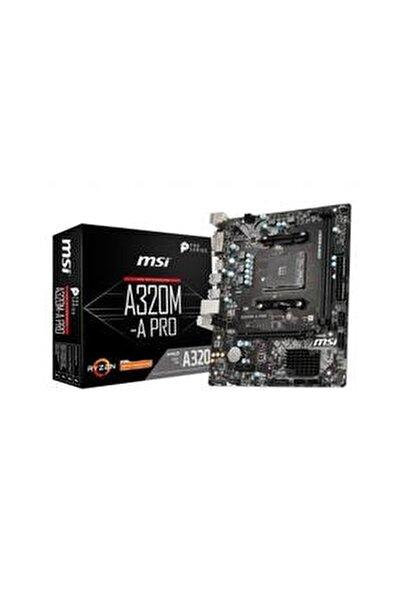 A320M-A Pro AMD A320 3200MHz DDR4 mATX Anakart