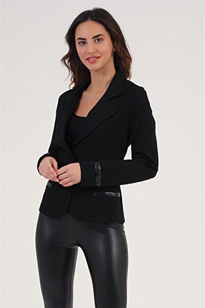 HomeStore Kadın Sıyah Ceket 1863000807201