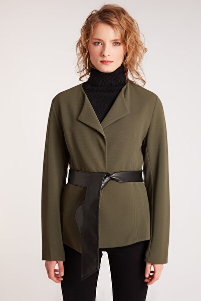 HomeStore Kadın Kakı Ceket 1963000801917
