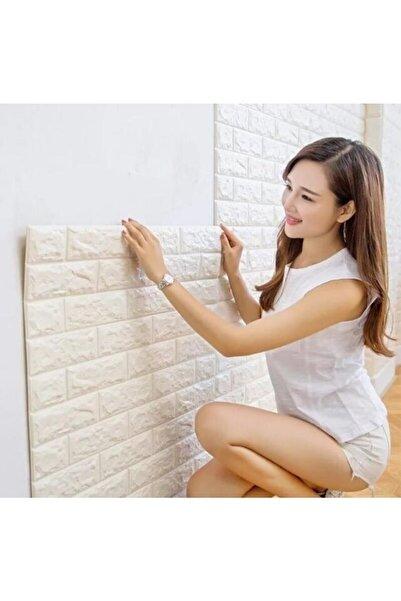 RENKLİ EVİM Çıkart & Yapıştır Kendinden Yapışkanlı 3d Esnek Duvar Kaplama Paneli 1 Adet