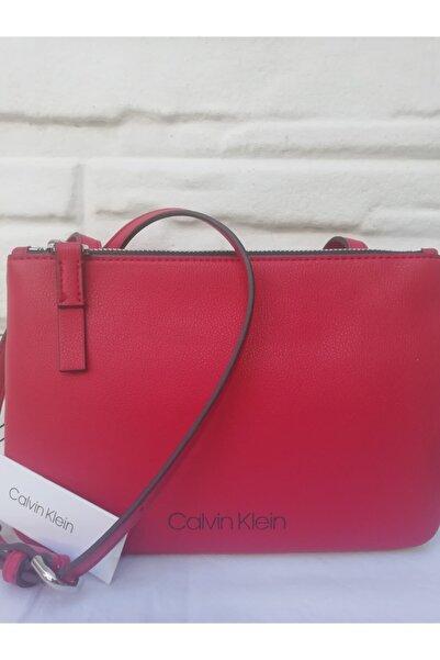 Calvin Klein Calvın Kleın Kırmızı Kadın Çanta
