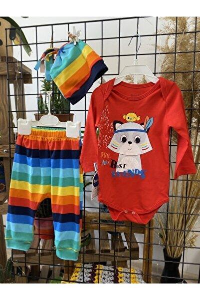 Miniworld Yeni Sezon Üç Parça Aylık Bebek Takımı