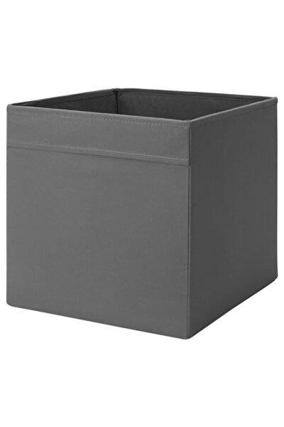 IKEA Düzenleyici Kutu Meridyendukkan Ev Düzeni Düzenleme Saklama Kutusu Gri 33x38x33 Cm