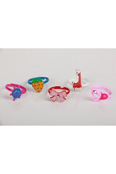 SeaBubbles Kız Çocuk Yüzük Renkli 5'li