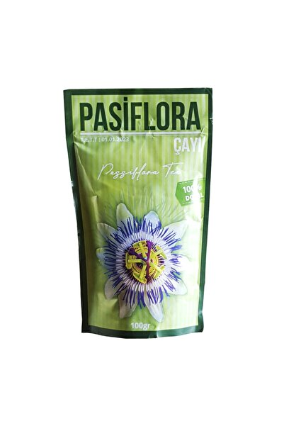 Zencefil Organik Pasiflora Çayı 100 Gr. Passiflora Tea