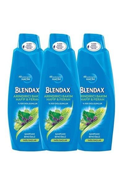 Blendax Arındırıcı Bakım Bitki Özlü Şampuan 500 Ml X 3 Adet