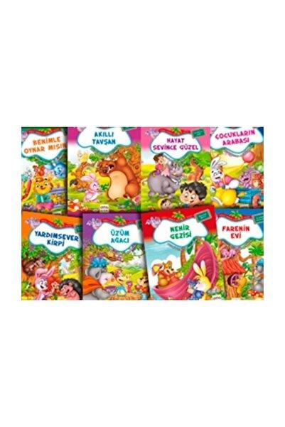 Nar Yayınları Neşeli Orman Hikayeleri Dizisi (8 Kitap Küçük Boy) - Bestami Yazgan
