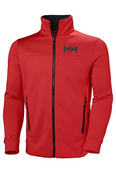 Helly Hansen Erkek Kırmızı Fermuarlı Cepli Ceket