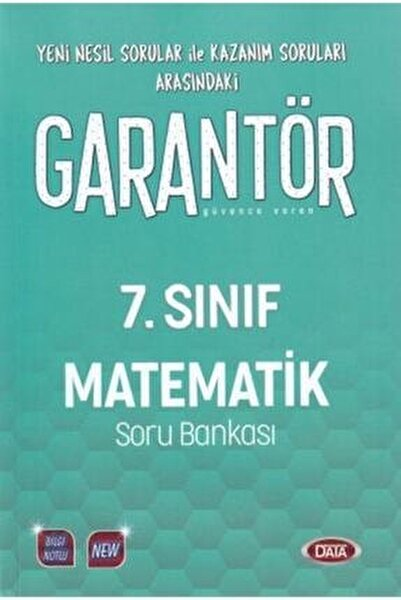 7. Sınıf Garantör Matematik Soru Bankası